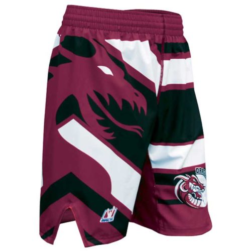 brute wrestling competition shorts