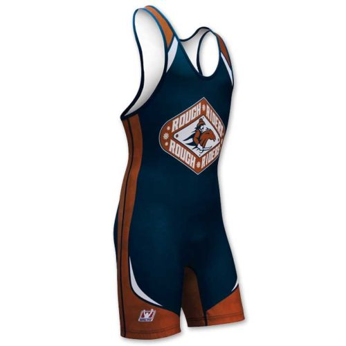 Custom sublimated Brute Annihilate singlet for wrestling.
