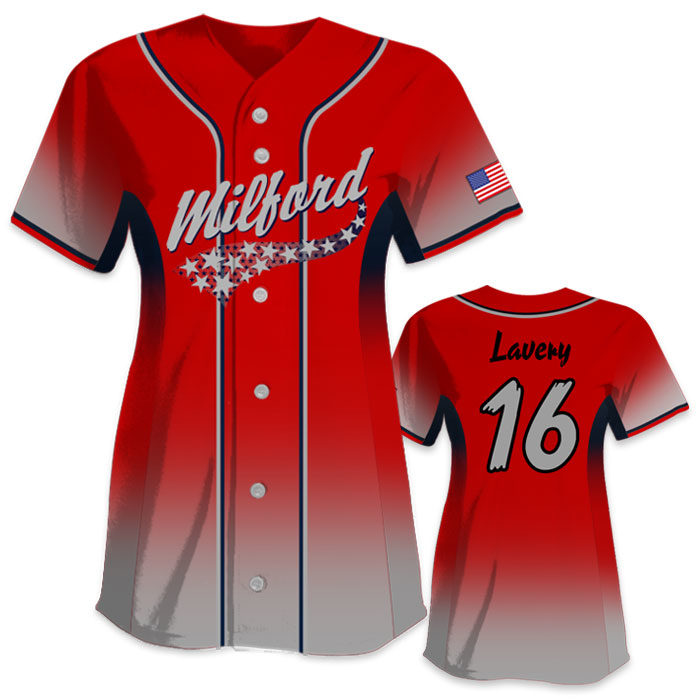 Custom Sublimated Charged 5th Element All-Stars Fastpitch Softball Jersey