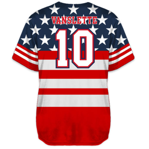 0a0b979857 Custom Sublimated Charged United We Stand Baseball Jersey All-Stars ...
