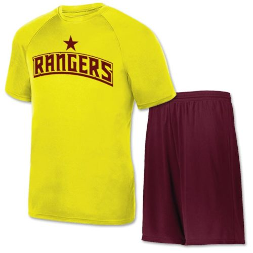 Moisture Wicking Performance Clutch Flag Football Uniform
