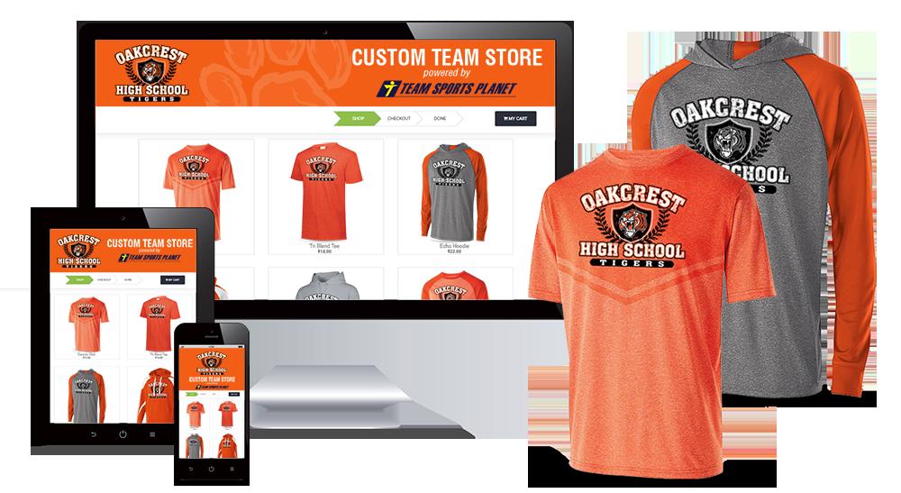 Custom Team Store