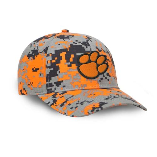 Digital Camo Cap-Orange