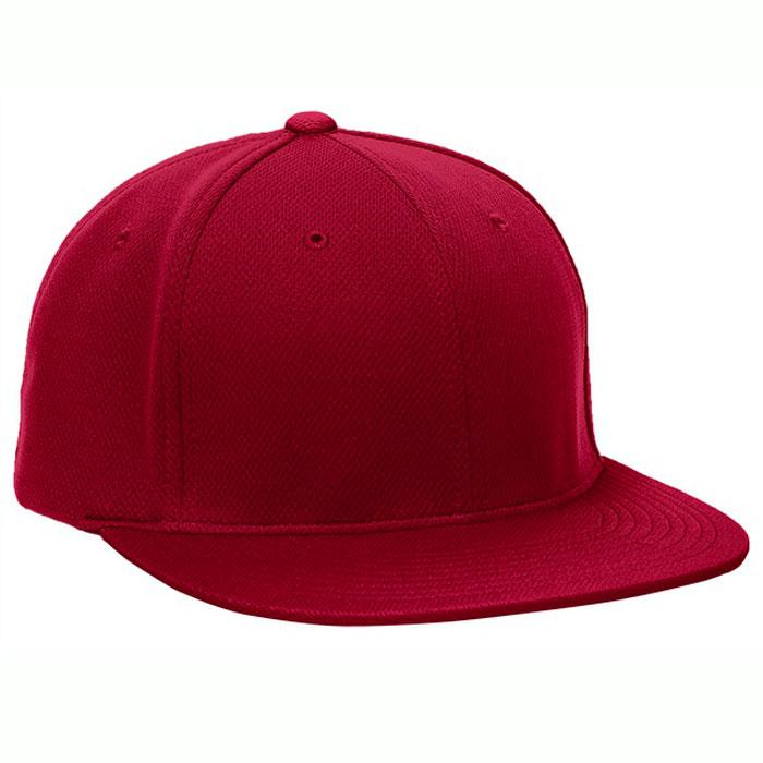 Pacific Headwear ES342 Premium P-Tec Cap in Cardinal