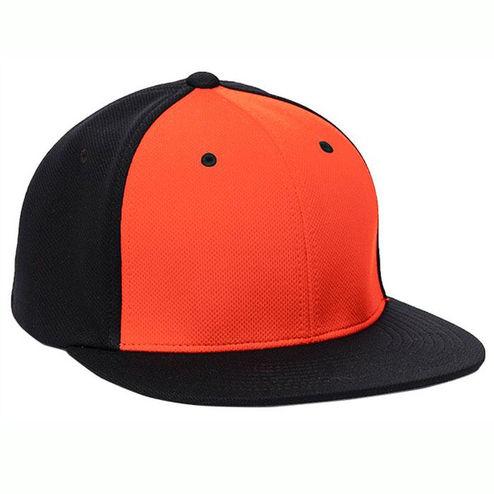 Pacific Headwear ES342 Premium P-Tec Cap in Orange and Black
