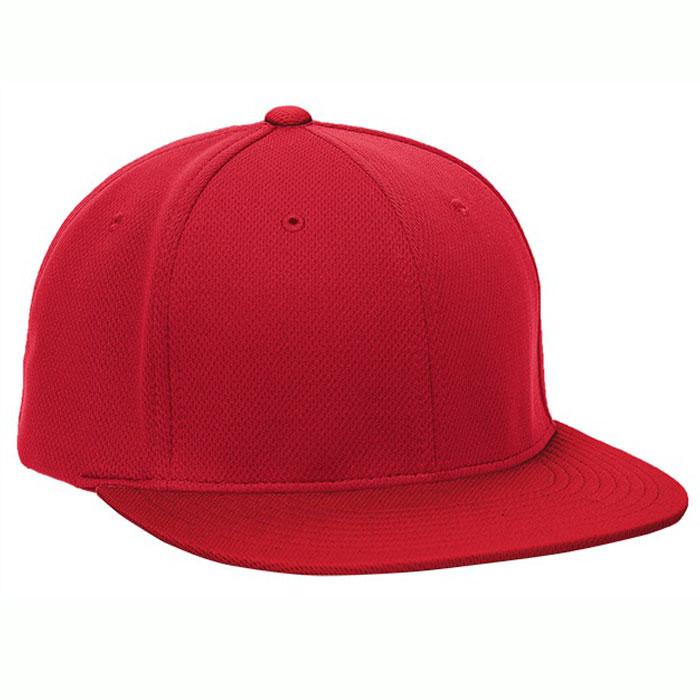 Pacific Headwear ES342 Premium P-Tec Cap in Red