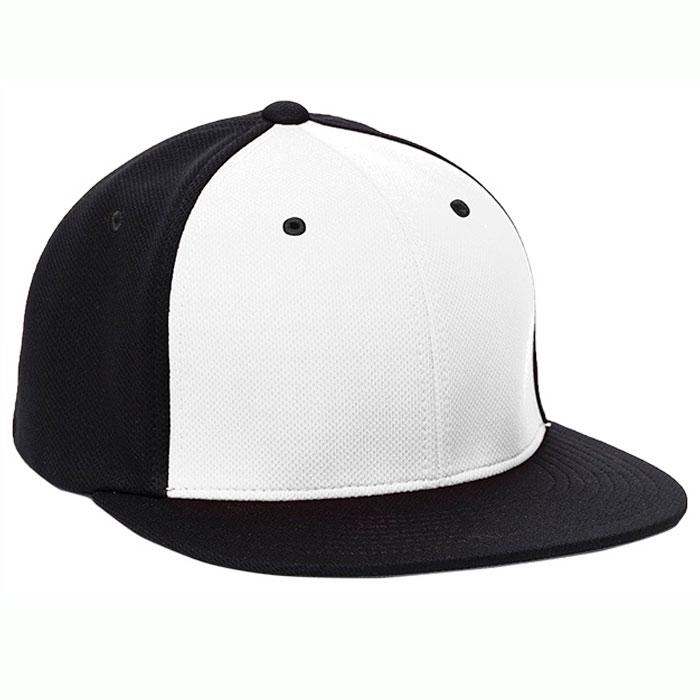 Pacific Headwear ES342 Premium P-Tec Cap in White and Black