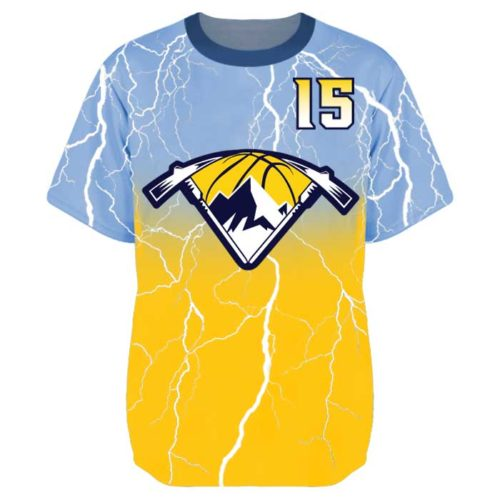 Elite Lightning Shooter Shirt with Color Fade