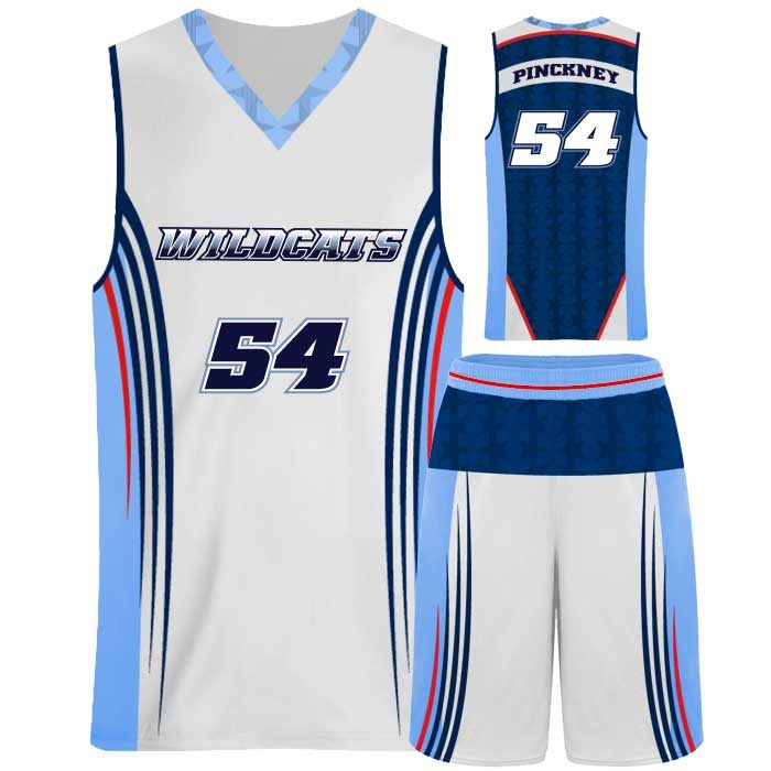 Elite Supernova Custom Sublimated Basketball Uniform