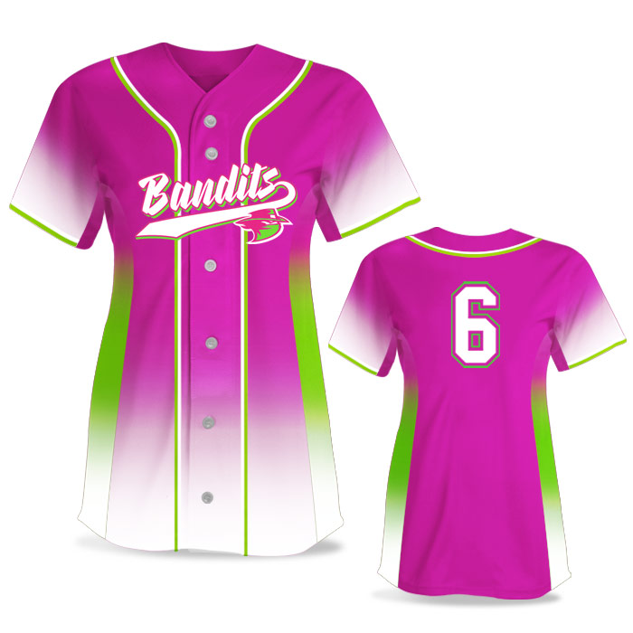 Custom Sublimated Elite 5th Element FP Jersey SS Full-Button