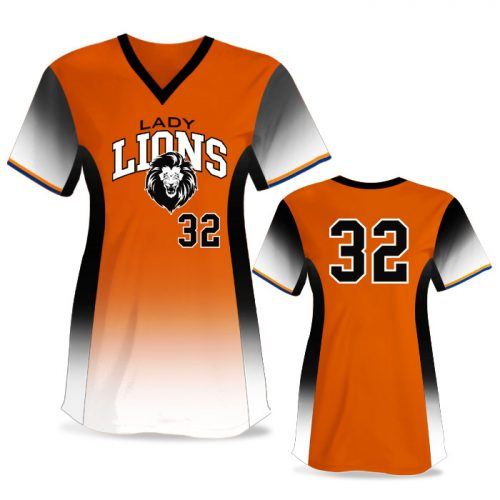 Custom Sublimated Elite 5th Element FP Jersey SS No-Button