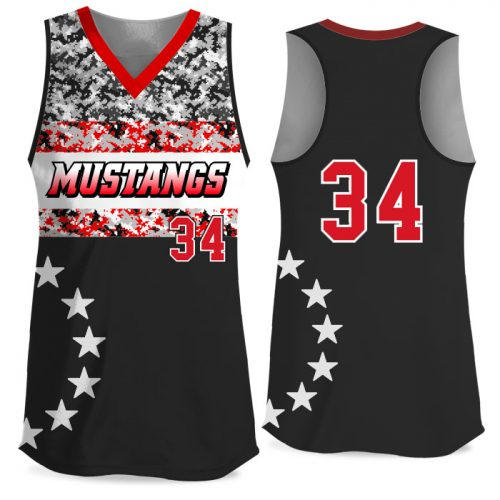 Custom Sublimated Elite American Soldier FP Jersey Racerback