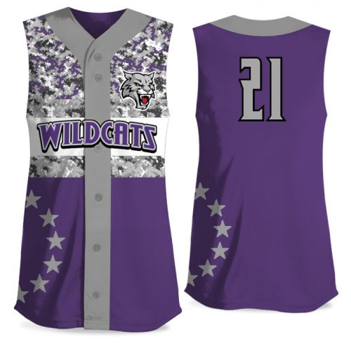 Custom Sublimated Elite American Soldier FP Jersey SL Full-Button