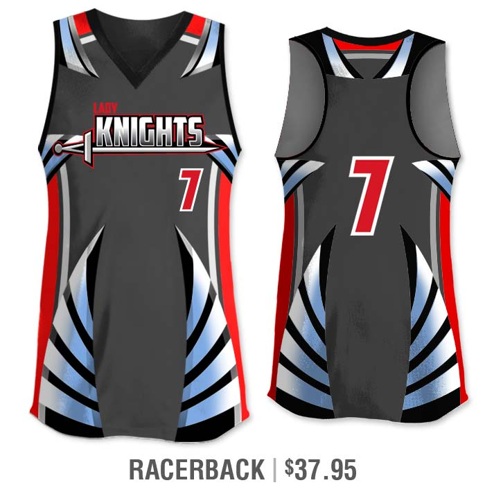 Elite Bash Boost Deluxe Custom Sublimated Racerback Softball Jersey