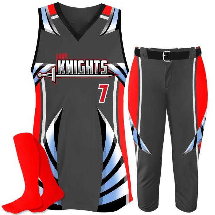 Elite Bash Boost Deluxe Custom Sublimated Softball Uniform