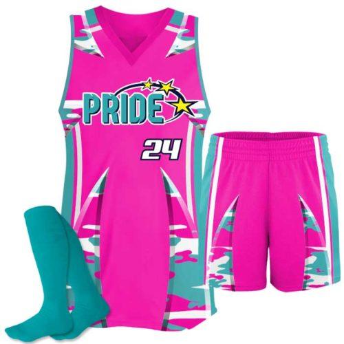 Elite Bash Custom Sublimated Softball Uniform with Shorts