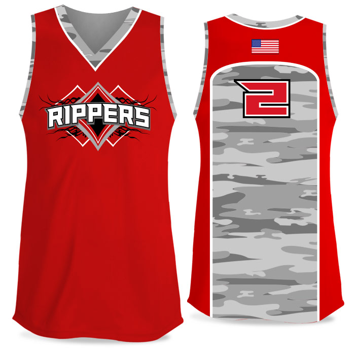 Custom Sublimated Elite Camo Soul Traditional FP Jersey Tank