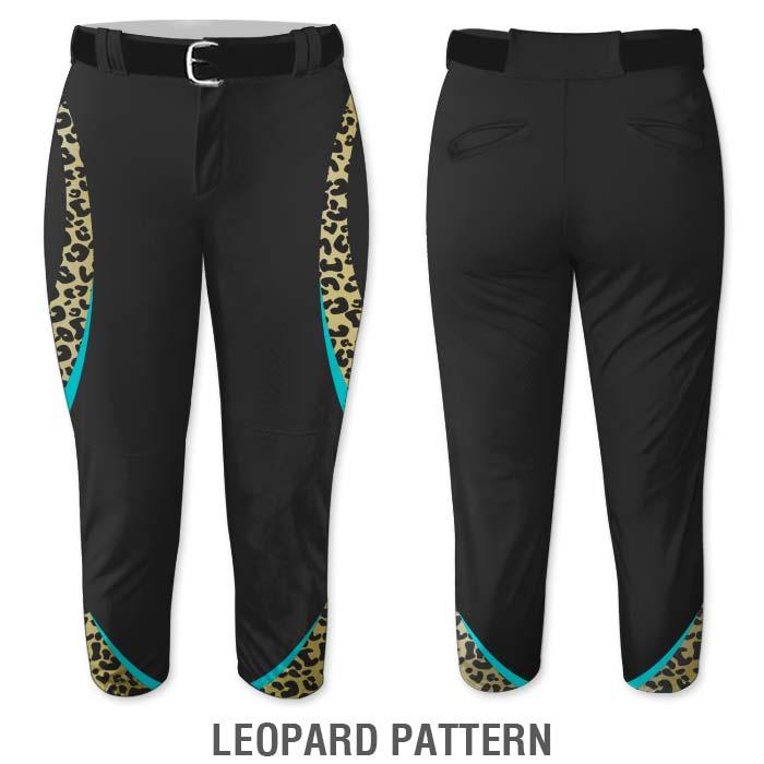 Leopard print Elite Chameleon Fastpitch Pants