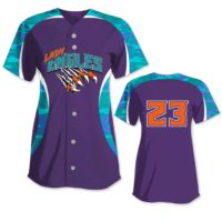 Elite Chameleon Traditional Camo Custom Sublimated Softball Jersey