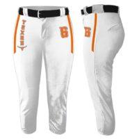 Custom Sublimated Elite Collegiate Fastpitch Pants
