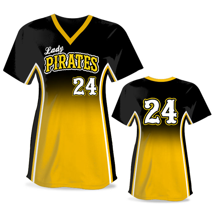 Custom Sublimated Elite Doubleheader FP Jersey SS No-Button
