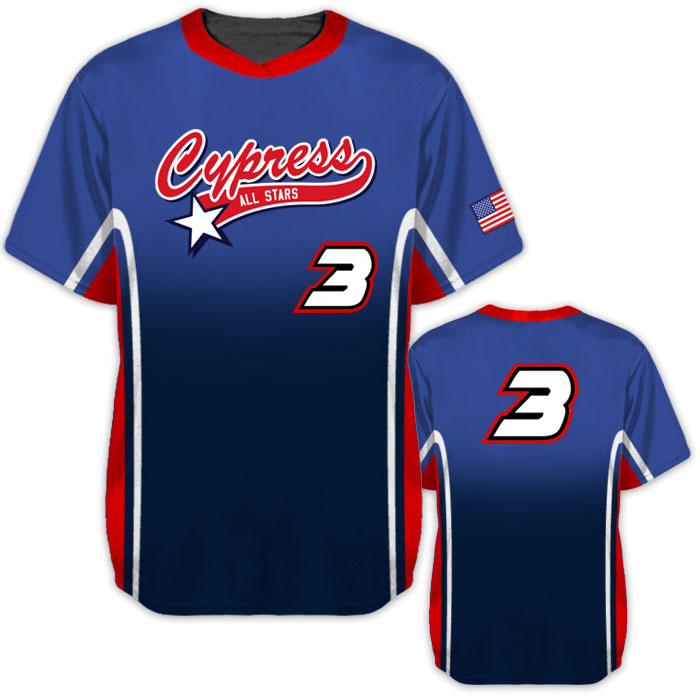 Elite Doubleheader Baseball jersey All Stars
