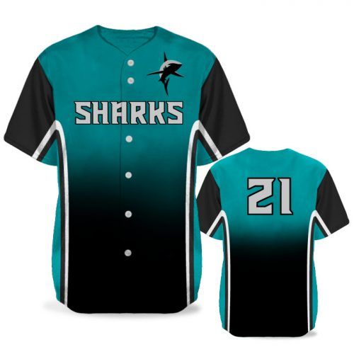 Custom Sublimated Elite Doubleheader BB Jersey SS Full-Button