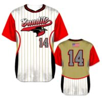 Elite Foul Lines Custom Baseball Jersey