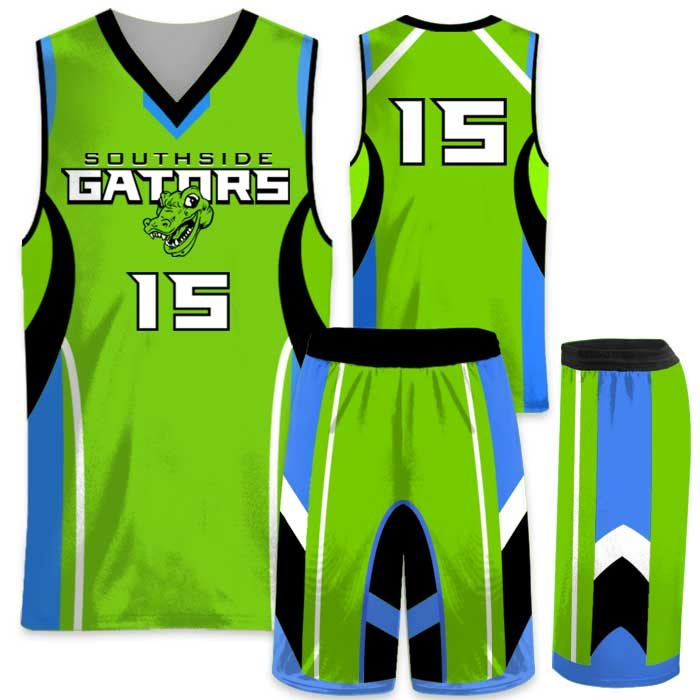 EliteHigh Flyer custom sublimated basketball uniform