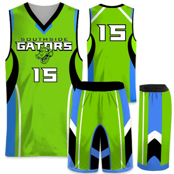 EliteHigh Flyer custom sublimated basketball uniform