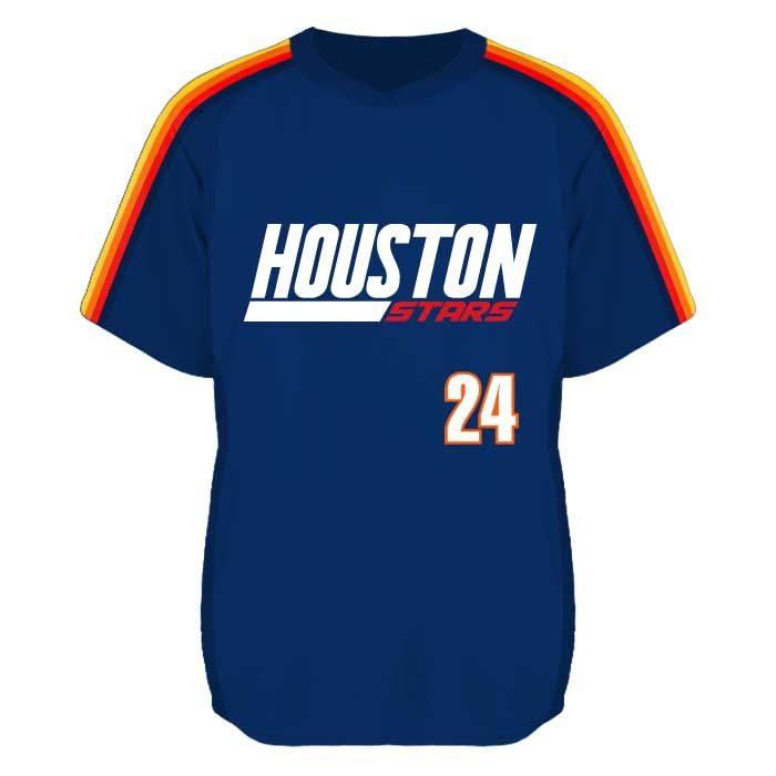 Throwback style, fully sublimated Elite Iconic Custom Baseball Jersey
