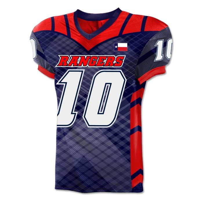 Custom Sublimated Football Jersey