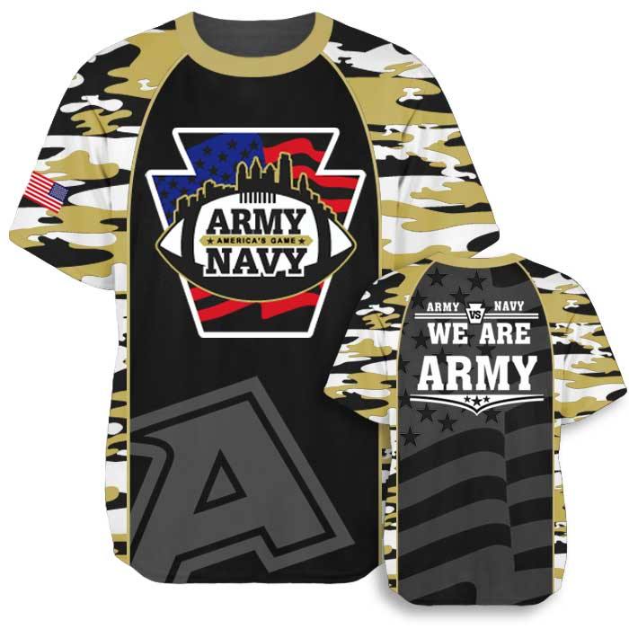 Elite Join Forces Flag Football Tee Army 2017