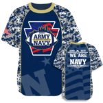 Elite Join Forces Flag Football Tee Navy 2017