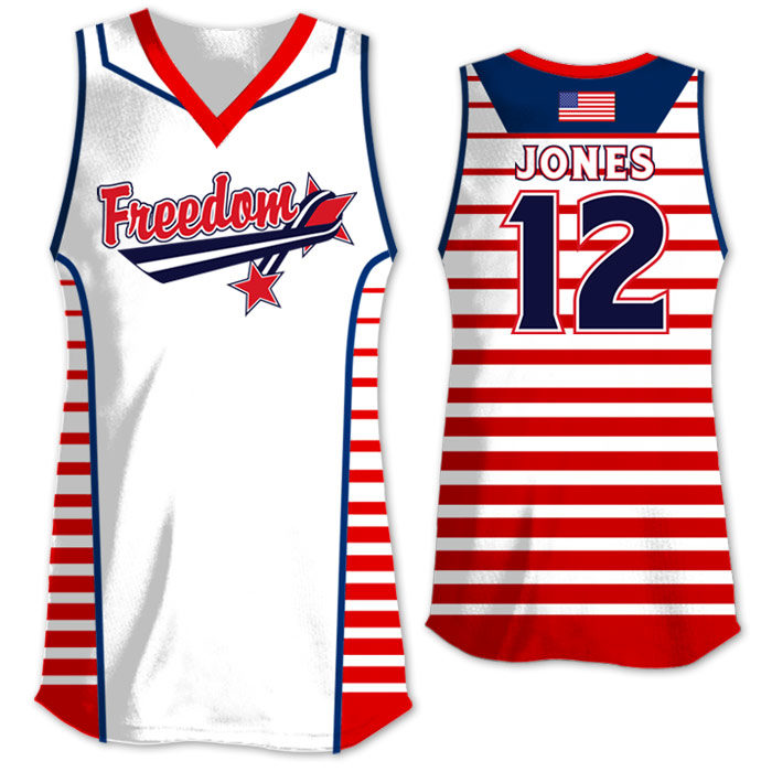 Elite Lineup Sublimated Softball Jersey