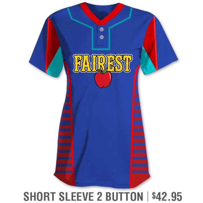 Descendants 2 Inspired Elite Lineup Custom Fastpitch Jersey