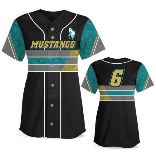 Custom Sublimated Elite New School FP Jersey SS Full-Button