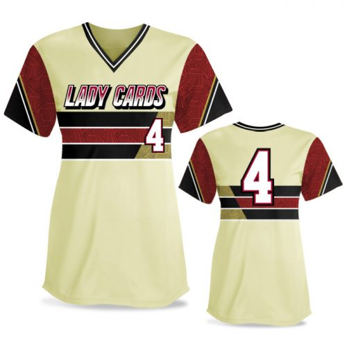 Custom Sublimated Elite New School FP Jersey SS No-Button