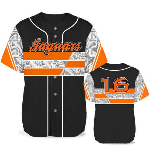 Custom Sublimated Elite New School BB Jersey SS Full-Button