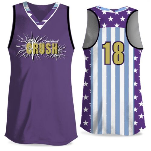 Custom Sublimated Elite Only in America Traditional Camo FP Jersey Racerback