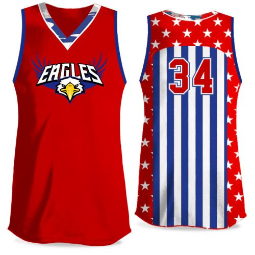 Custom Sublimated Elite Only in America Traditional Camo FP Jersey Tank