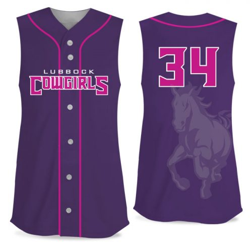 Custom Sublimated Elite Pastime FP Jersey SL Full-Button