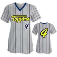 Custom Sublimated Elite Pinstripe Fastpitch Jersey