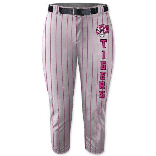 Custom Sublimated Pinstripe Fastpitch Softball Pants