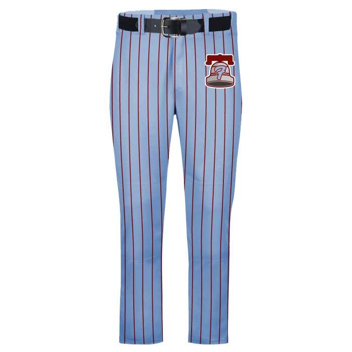 Elite Pinstripe Custom Baseball Pants, Uniform Builder