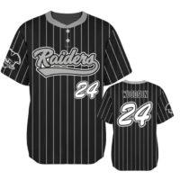 Elite Pinstripe Custom Baseball Jersey