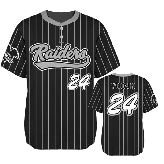Elite Pinstripe Custom Baseball Jersey