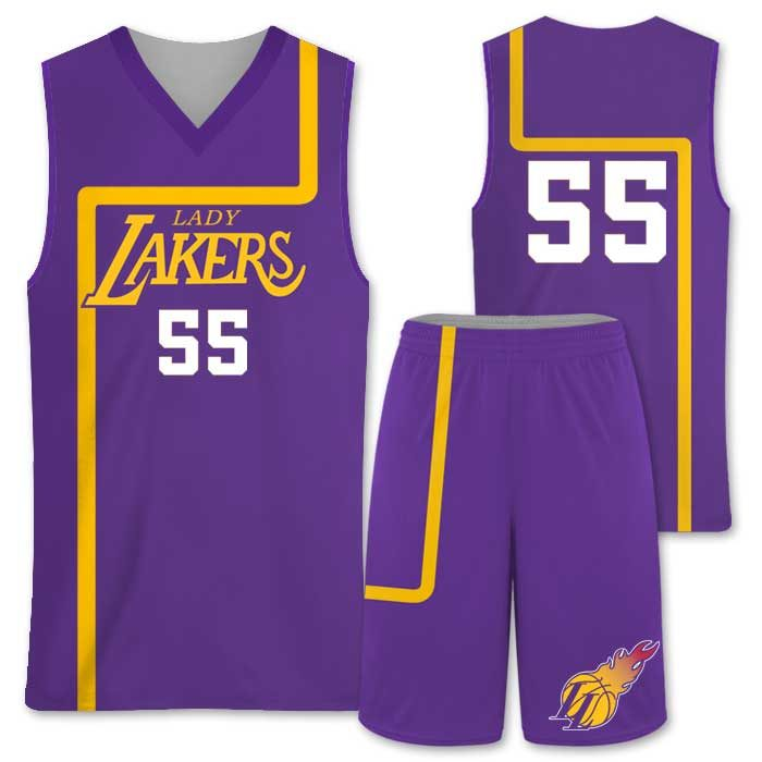 Elite Semi Pro, Throwback Custom Basketball Uniform