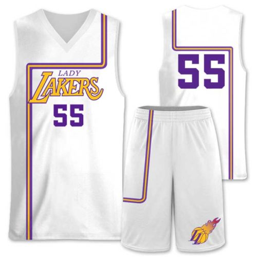Elite Semi Pro, Throwback Custom Basketball Uniform
