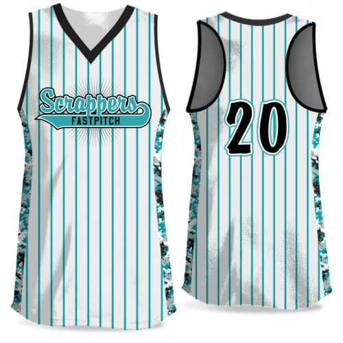 Custom Sublimated Elite Small Town USA FP Jersey Racerback